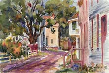Painting of Strawbery Banke